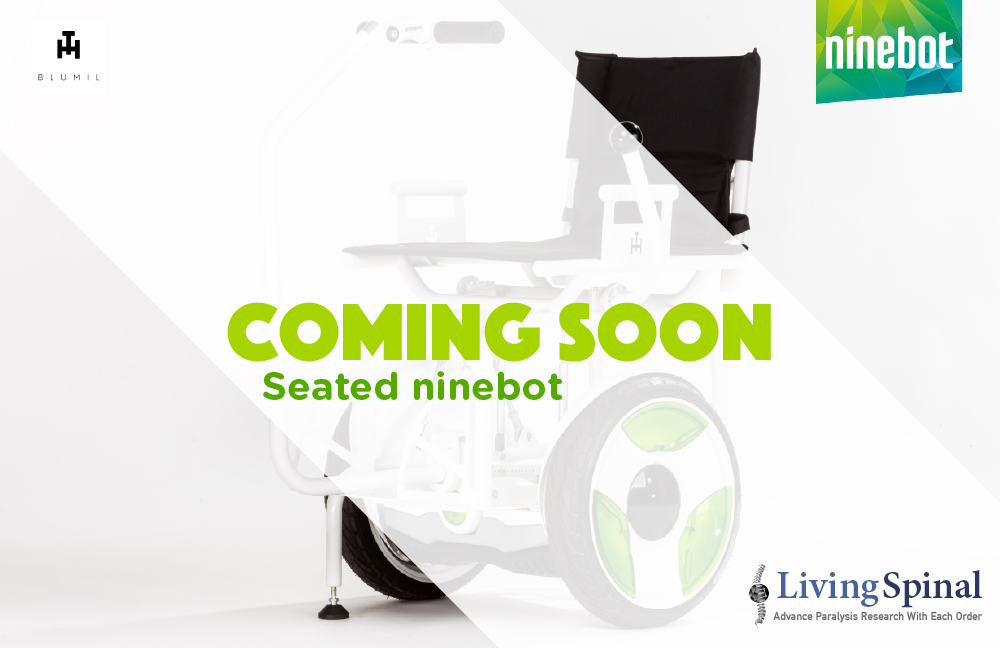 Seated ninebot for wheelchairs