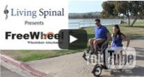 Freewheel Wheelchair Attachment