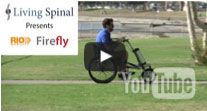FireFly Wheelchair Attachment in a park
